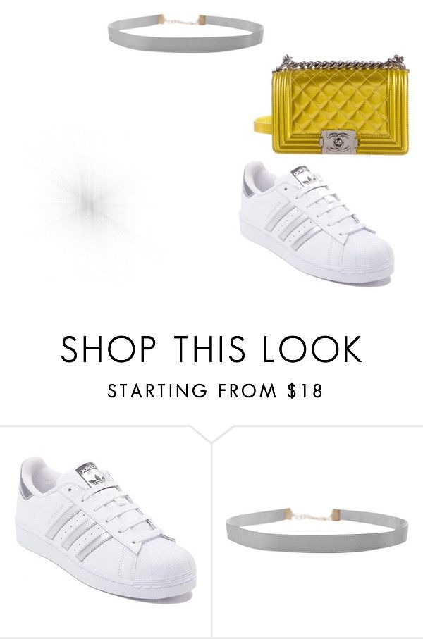 """""""Untitled #7"""" by andrea-noches on Polyvore featuring adidas, Humble Chic and Chanel"""