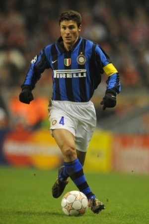 Zanetti -- Great defender .. even though he is now 39, he plays as better than ever