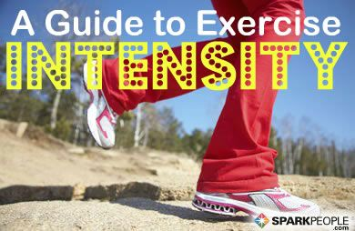 Reference Guide to Exercise Intensity via @SparkPeople