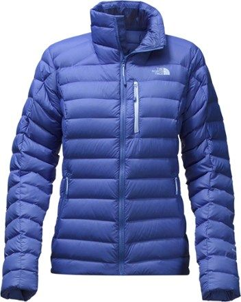 The North Face Women's Morph Down Jacket Amparo Blue XL