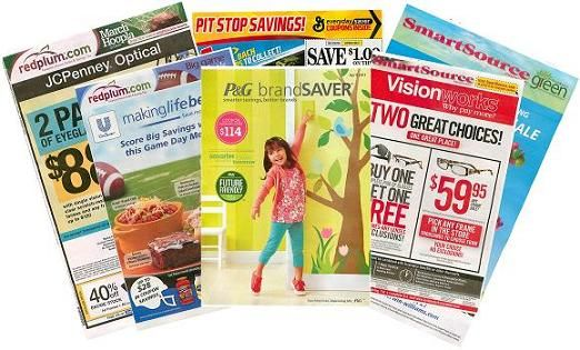 Buy coupon inserts without wasting papers