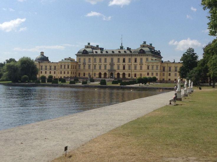 Drottningholms slott in Storstockholm
