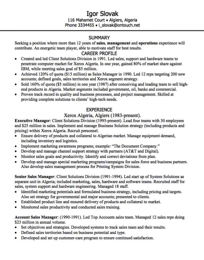 925 best Example Resume CV images on Pinterest Communication - sample safety program