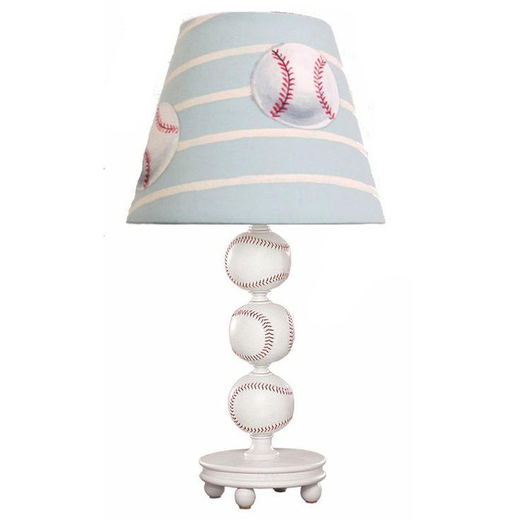 Baseball Lamp With Shade