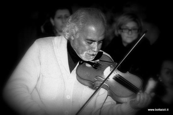 Violinista a Piazza Navona