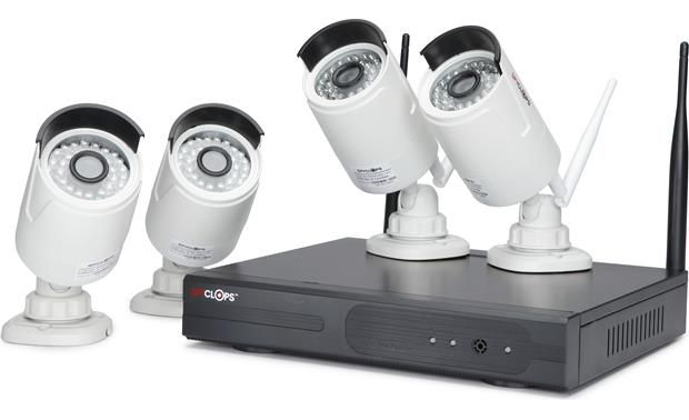 Spyclops SPY-NVR4720W Wireless Camera System Front
