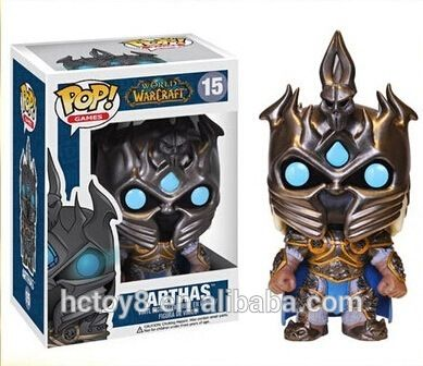 2015 NEW Hot toys PVC Funko POP 10cm World of Warcraft ( WOW ) Nerzul 15# action figure