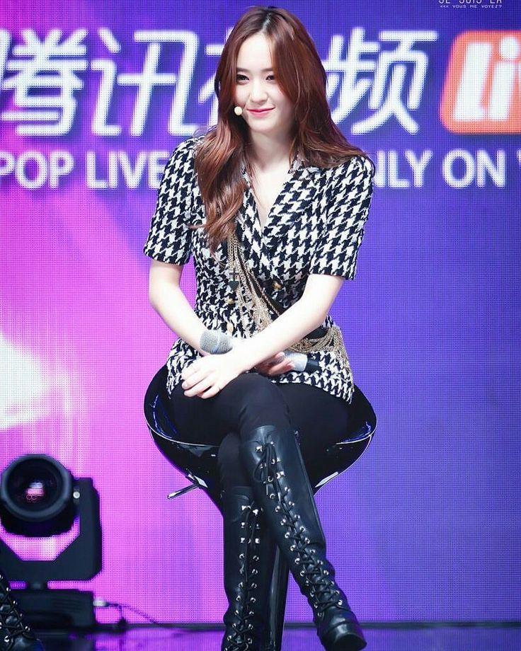 150930 Krystal - Tencent K-pop Live Mini Concert #krystal #정수정 #크리스탈 #soojung #jungsoojung #fx