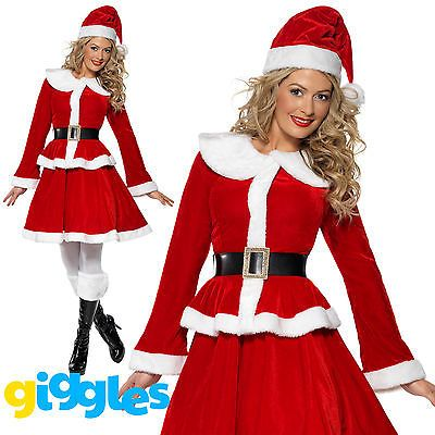 Miss santa claus costume womens mrs #father #christmas xmas fancy dress #outfit,  View more on the LINK: 	http://www.zeppy.io/product/gb/2/381330504030/