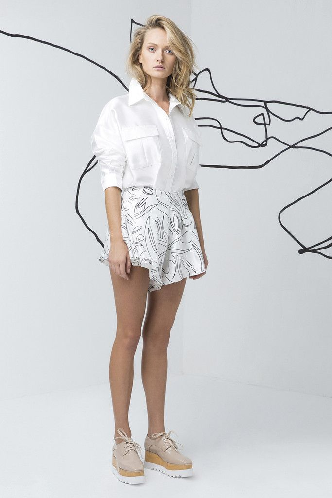 C/MEO COLLECTIVE  white shirt available at suitster.com