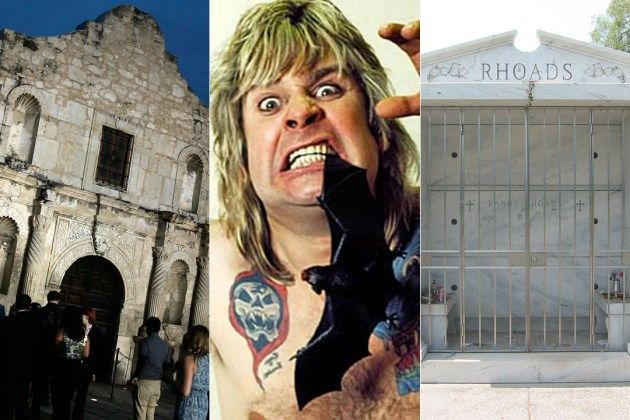 The Bat, the Alamo and Randy Rhoads' Death: The Two Most Troubled Months of Ozzy Osbourne's Life  Read More: The Bat, the Alamo and Randy Rhoads' Death: The Two Most Troubled Months of Ozzy Osbourne's Life   http://ultimateclassicrock.com/ozzy-alamo-bat-randy-rhoads-death/?trackback=tsmclip