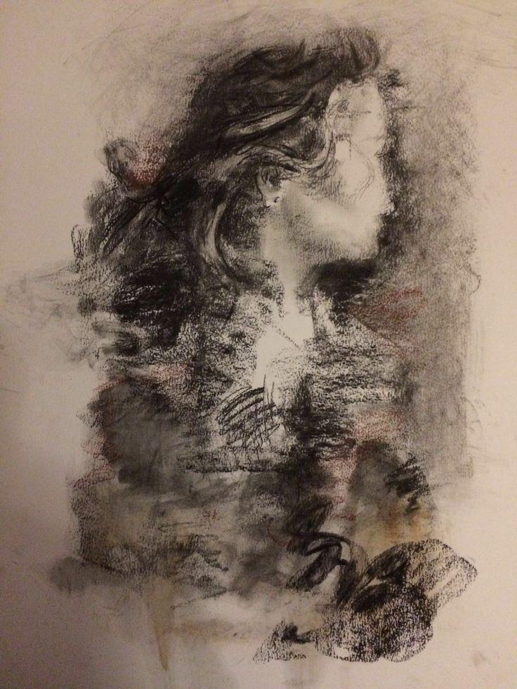 Sin Título. Mixta sobre papel 50x70 cm. 2016