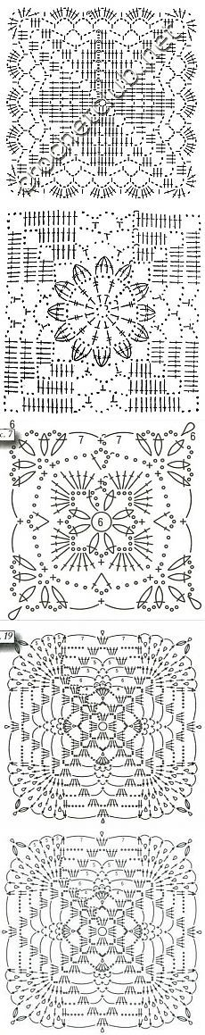 Tricotat cârlig-ilustrații & gt; Motivele