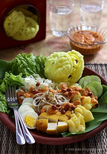 Rujak Pengantin~ The Bride Food Salad