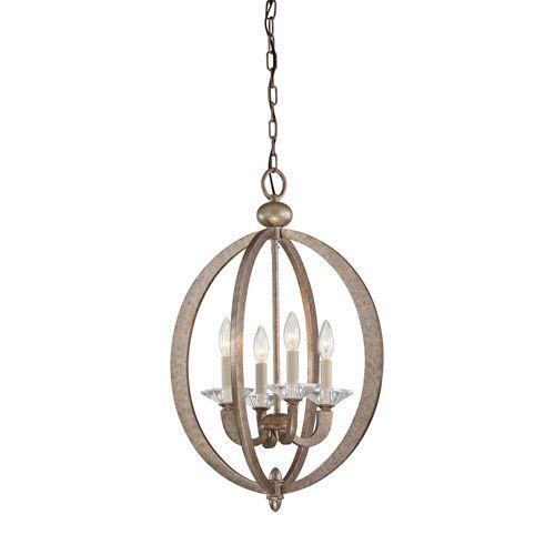 Forum Gold Dust Four Light Foyer Pendant Savoy House Lantern Pendant Lighting Ceiling Ligh