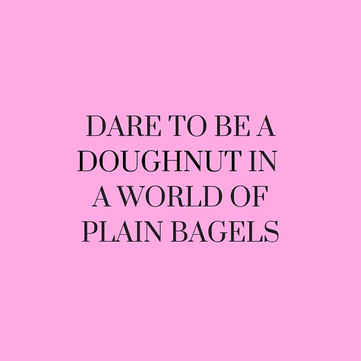 Love this quote. Always be different! Plus Doughnuts are better anyway ;)   Via Lightinthebox on tumblr  (scheduled via http://www.tailwindapp.com?utm_source=pinterest&utm_medium=twpin&utm_content=post85137805&utm_campaign=scheduler_attribution)