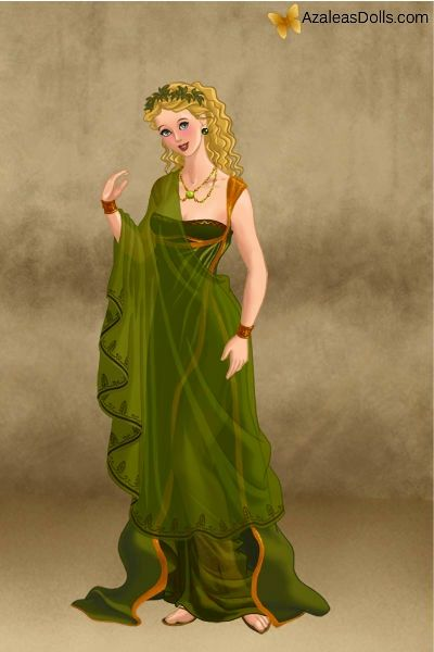 Janys en vestido romano