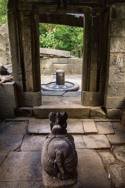 Ancient Shiva Temple ruin
