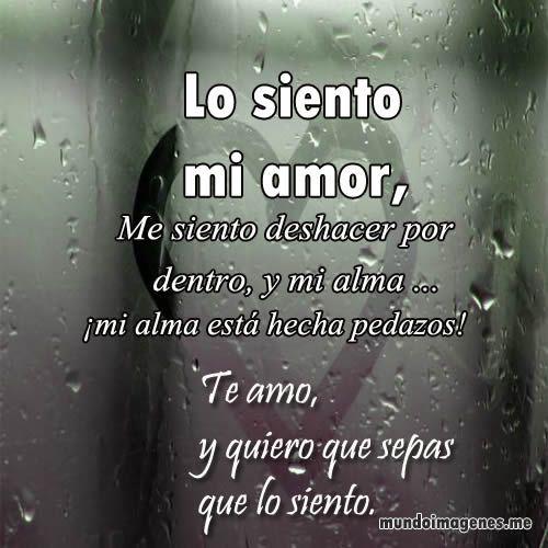 Imagenes De Perdoname Mi Amor Emotivas Para Dedicar  - Mundo Imagenes Frases Actuales