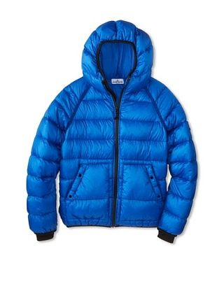 54% OFF Stone Island Kid's Down Puffer Jacket (Indigo)