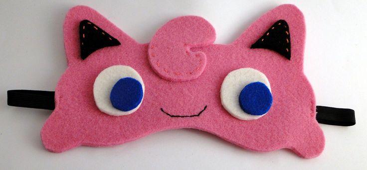 Jigglypuff blindfold mask by TosTosia