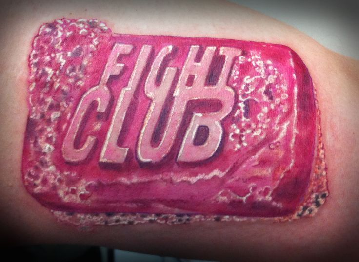Fight club soap tattoo color will spencer pinterest for Good soap for tattoos