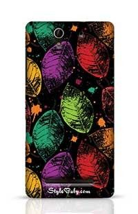 Leaves Sony Xperia C3 New Phone Case