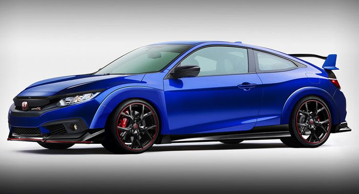 rendering of 2017 Honda Civic Coupe Gets Dressed In Type R