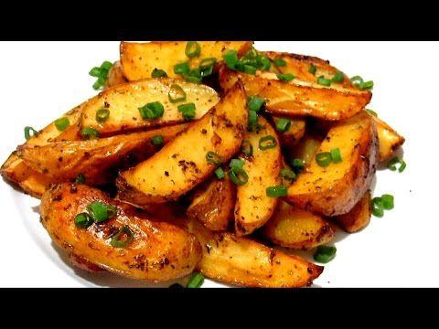Вкусно - #КАРТОФЕЛЬ по деревенски #Рецепт.  Картошка, запеченная в духовке - YouTube