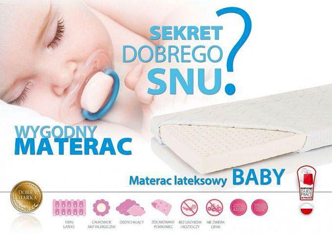 Materace lateksowe Hevea Baby 60x120 to produkty polskiego producenta o właściwościach antyalergicznych przeznaczone do użytkowania przez dzieci od pierwszych chwil życia. Cena - 262,00zł http://bit.ly/2faiEqv