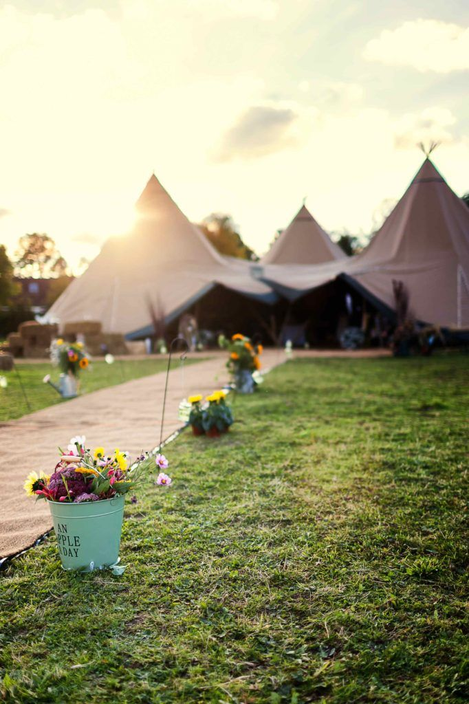 Tipi or Marquee Wedding Decoration Inspiration