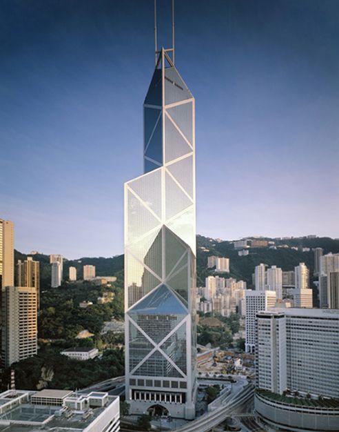 Bank of China Tower, Hong Kong, China, 1985 — 1990 | José Miguel Hernández Hernández