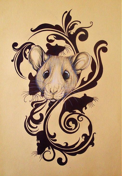 25 best ideas about rat tattoo on pinterest mouse tattoos rat rat and pet rats. Black Bedroom Furniture Sets. Home Design Ideas