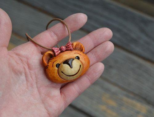Medvinka medová - přívěsek na krk