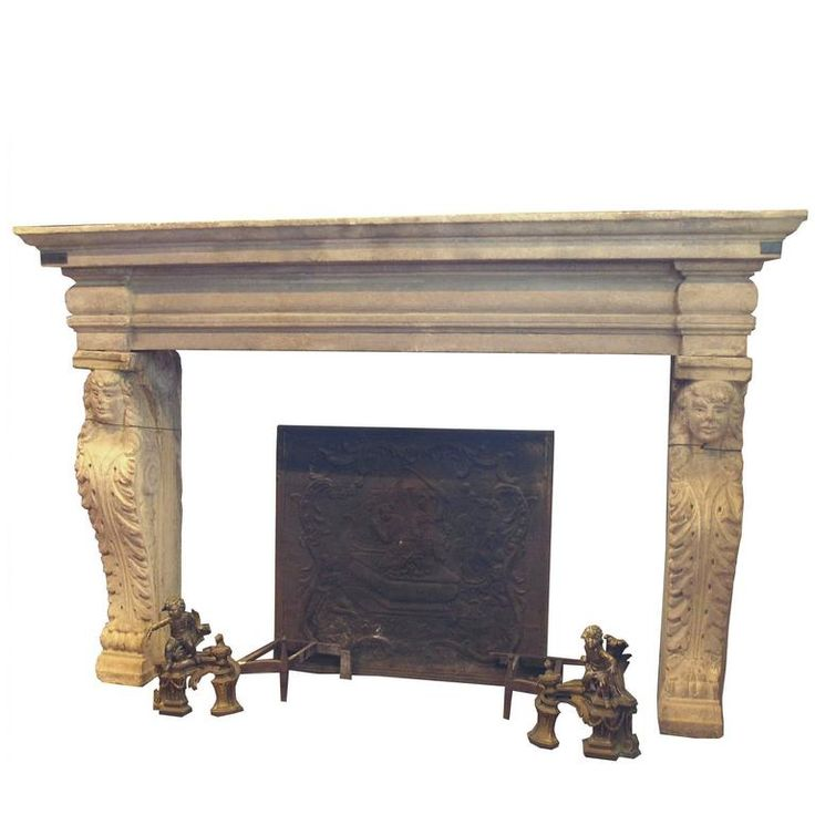 Antique Fireplace Mantel | From a unique collection of antique and modern fireplaces and mantels at https://www.1stdibs.com/furniture/building-garden/fireplaces-mantels/