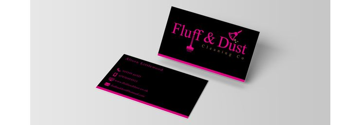 Fluff Dust Co Business Cards