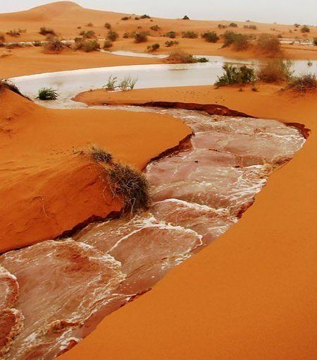 rain in the desert... Ha'il Region, Saudi Arabia | by cvhail