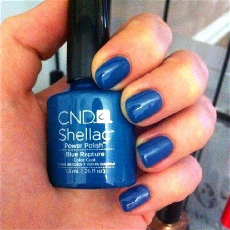 Cnd Blue Rapture Cnd Shellac Cnd Swatches Pinterest
