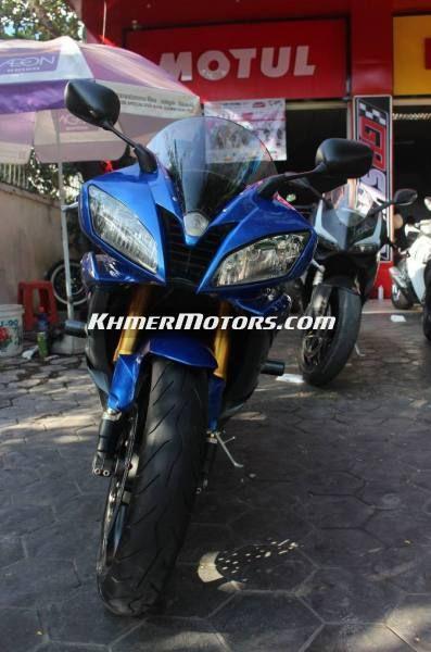 Yamaha R6 ឆ្នាំ 2007 ម៉ូតូថ្មី 90%