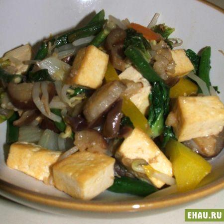 Стир-фрай с тофу - Рецепты на Эхау.Ру