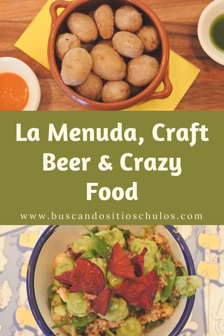 La Menuda, Craft Beer & Crazy Food #Barcelona #restaurante #gastronomía #viajar