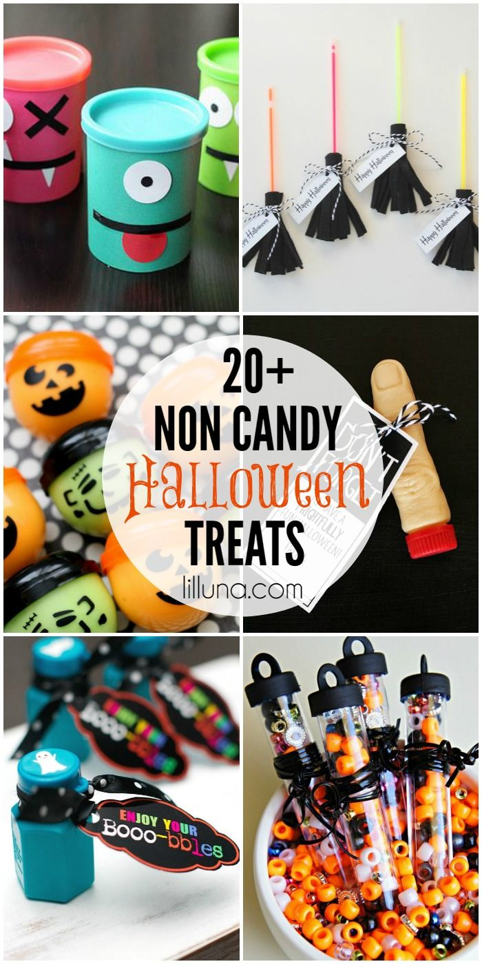 20+ Non-Candy Halloween Treats on { lilluna.com }!!
