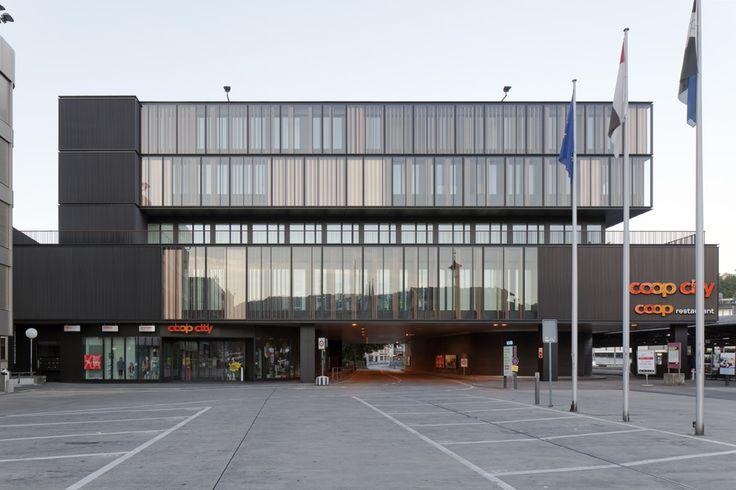 Umbau und Erweiterung, Coop City Baden Zulauf & Schmidlin Architekten