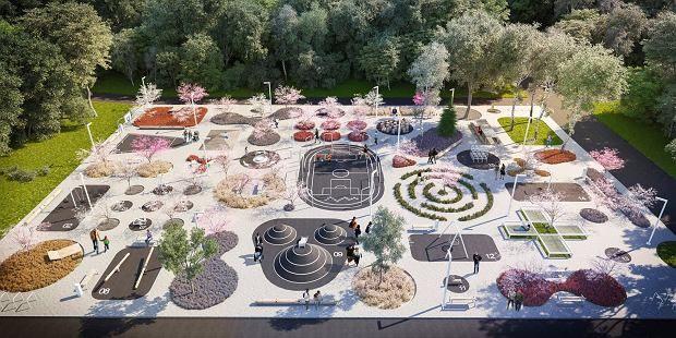 Zdjęcie numer 1 w galerii - Niezwykły plac dla mieszkańców Chorzowa. Jest czego…