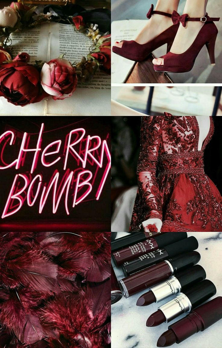 #burgundy #aesthetics