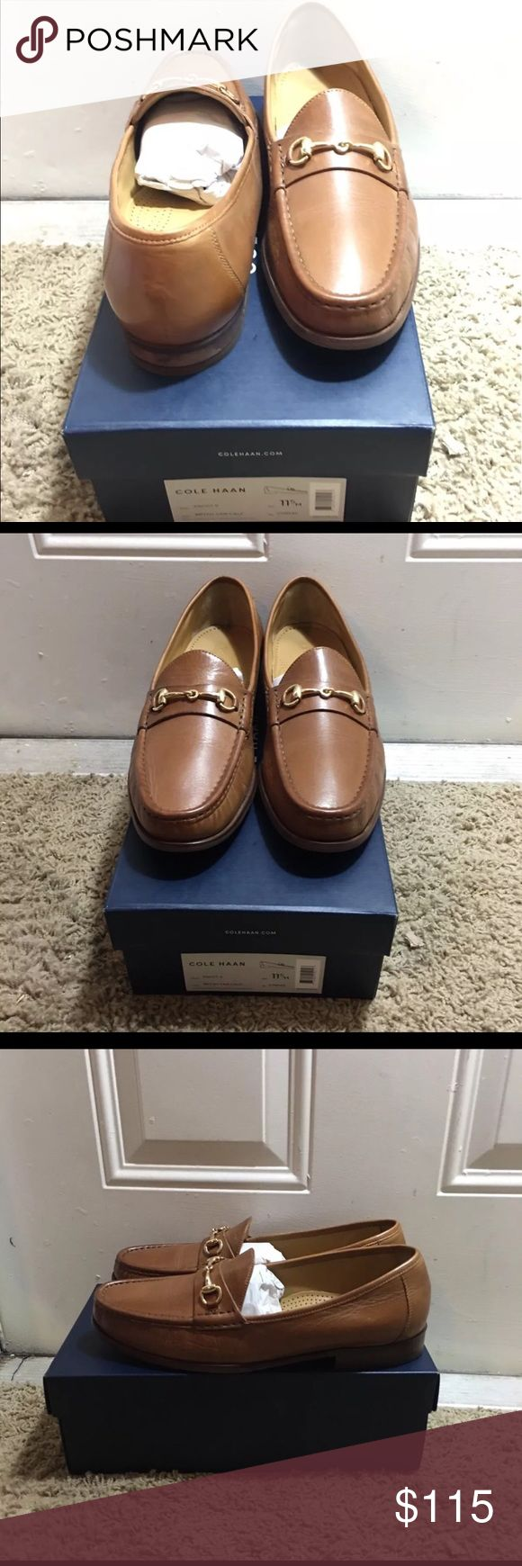 Cole Haan Ascot Bit Loafer 100% Authentic Cole Haan Loafer Ascot Bit Loafer     size: 11.5                                                                        worn once comes with original box Cole Haan Shoes Loafers & Slip-Ons