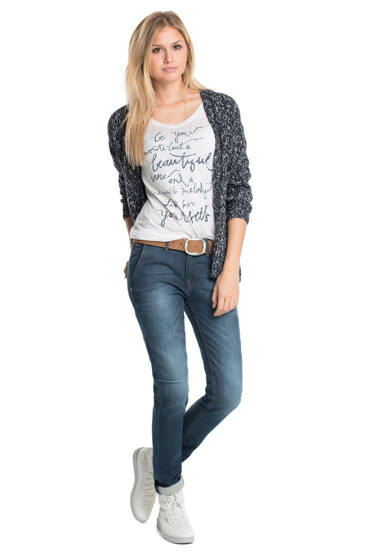 edc - soft jogger denim jeans at our Online Shop