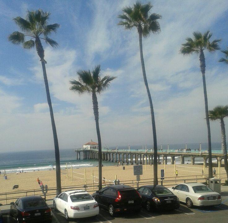 Name that beach in sunny LA.