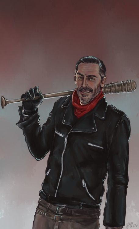 10 piezas de arte dedicadas a Negan (AMC - The Walking Dead)