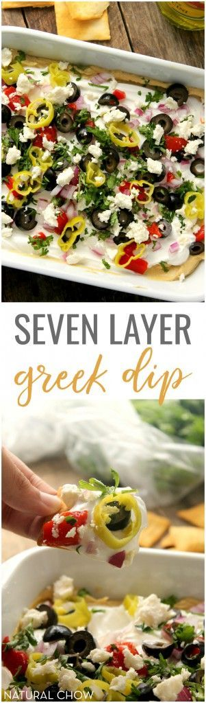This Crowd Pleasing 7 Layer Greek Dip Will Be Devoured In Minutes And Is Super Food RecipesPotluck